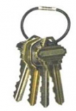 Key-Box Security Tamper Proof Key Rings